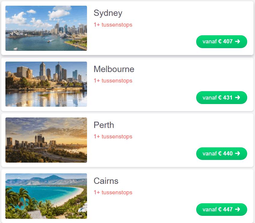 beste aansluiting websites Australië