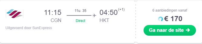 Goedkoopste vluchten naar Australië