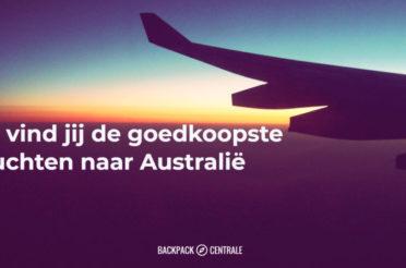 De Goedkoopste vluchten naar Australië vind je zo (2017 update)