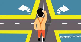 De twijfels van een backpacker zonder retourticket
