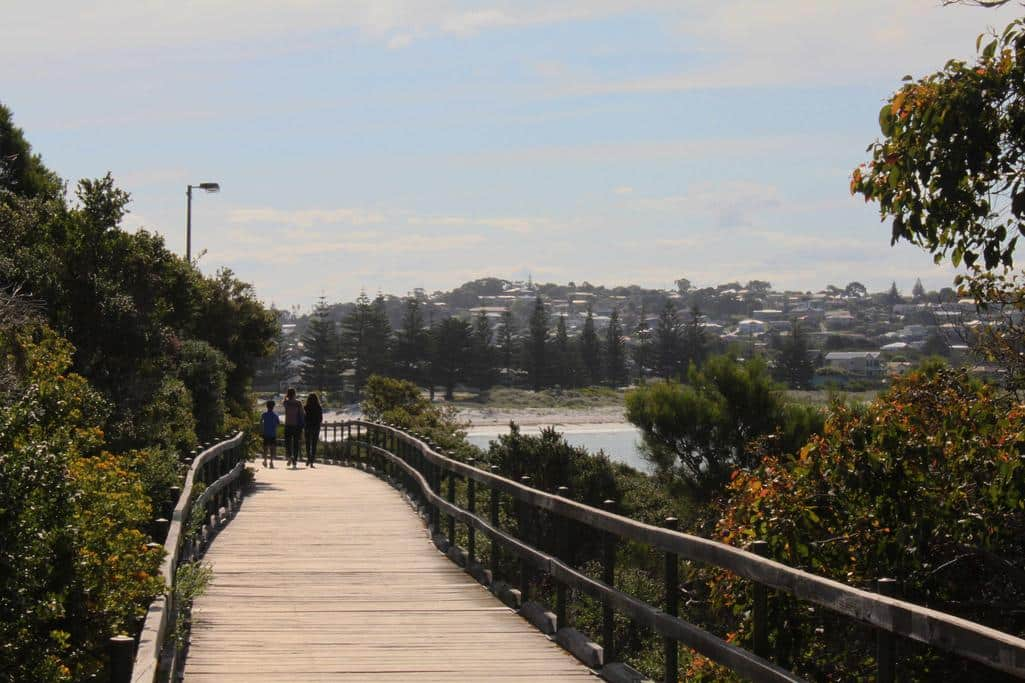 Coastal board walk, Albany