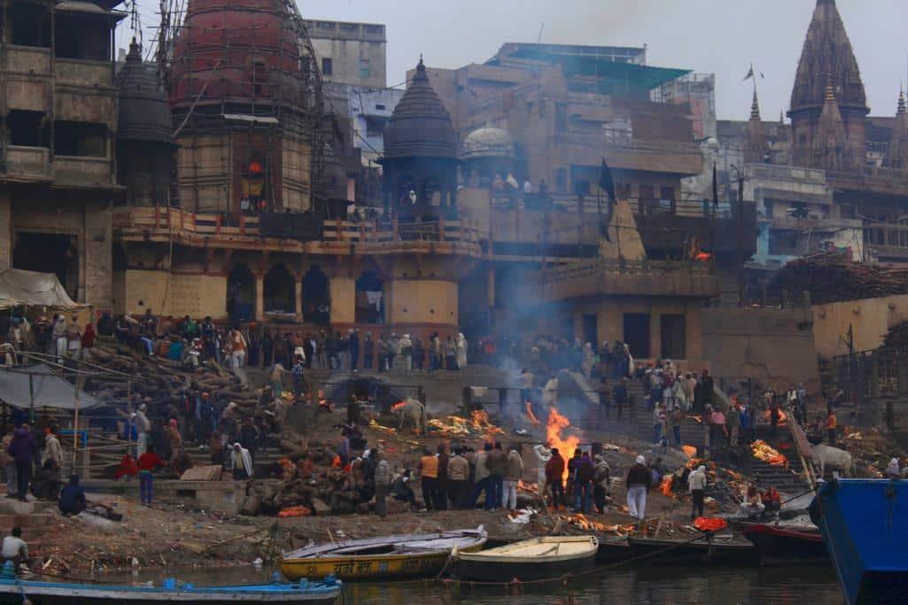 Burning Ghat India