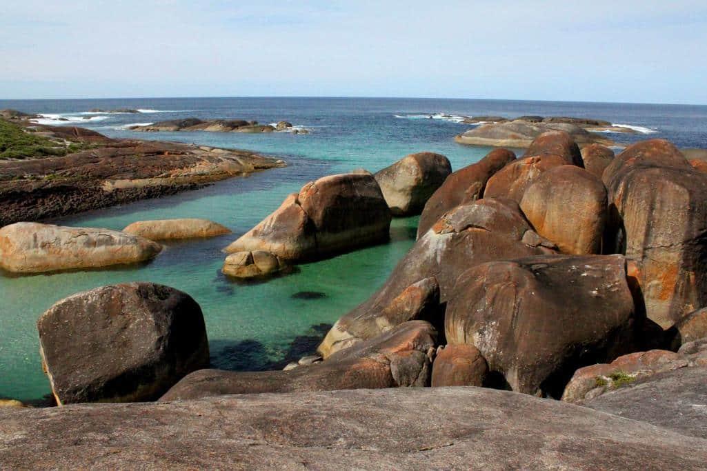 Elephant Rocks, hier wil je toch gewoon voor altijd blijven?