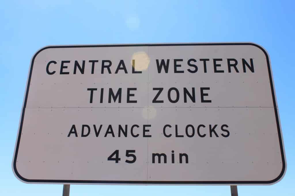 Casual de volgende tijdszone infietsen