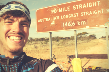 Biking through OZ Part VI: Fietsen over de Nullarbor