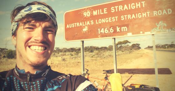 Biking through OZ Part VI: Fietsen over de Nullarbor