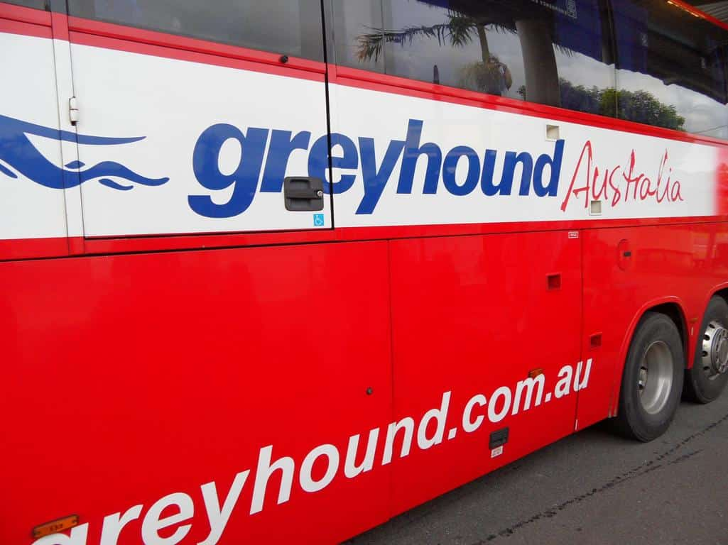 Rondreizen in Australië: Greyhound