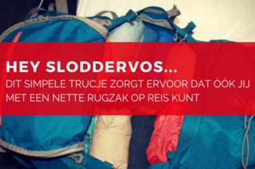 Backpack Inpakken: deze truc houdt je backpack voor altijd netjes
