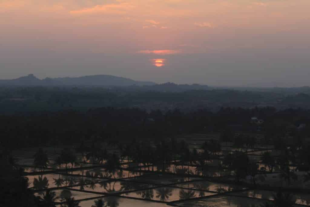 Hampi Sunset