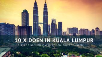 10 x doen in Kuala Lumpur