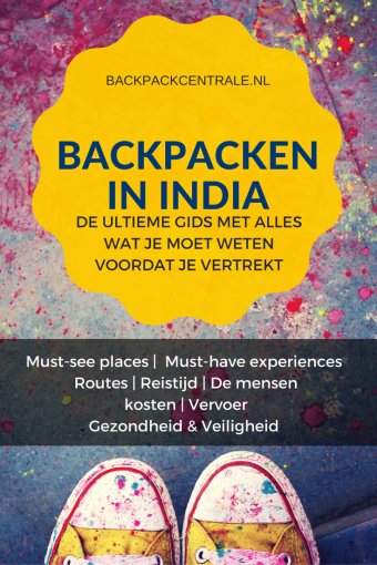 Backpacken In India: De Ultieme Voorbereidingsgids