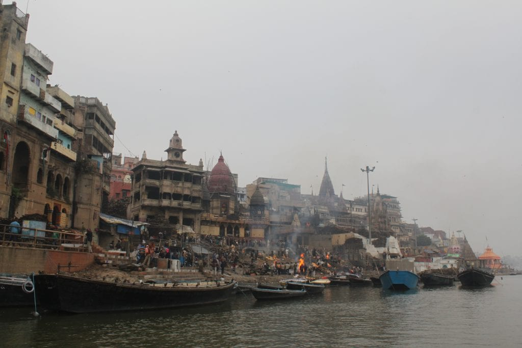 Backpacken in India: Varanasi