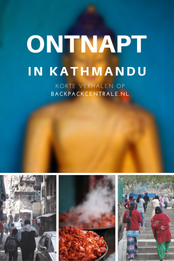 Meedogenloze Pestkoppen En Vlerkjes Eten In Kathmandu