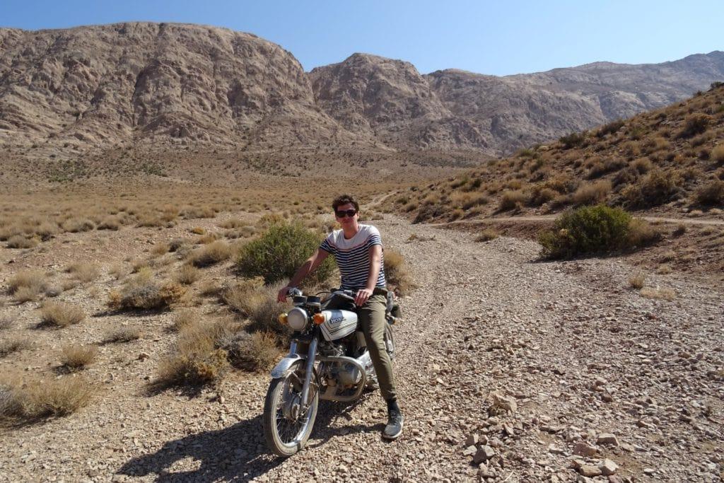 Motor rijden in Iran