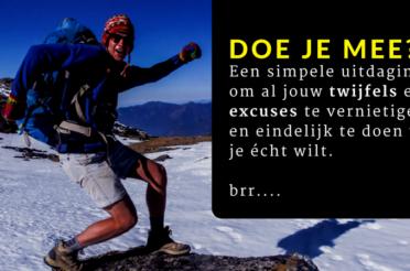 In 30 Dagen Een Daadkrachtiger Persoon Zonder Excuses <br><span style=