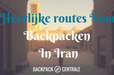 Routes Voor Backpacken Iran
