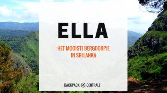 Inspiratie voor Sri Lanka: Ella – het mooiste bergdorpje van Sri Lanka.