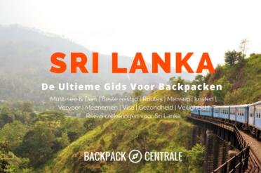 Backpacken in Sri Lanka: De Ultieme Gids Voor Backpackers