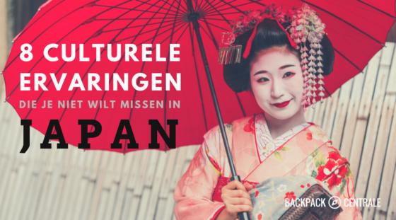 8 Culturele Ervaringen Die Je Niet Wilt Missen In Japan