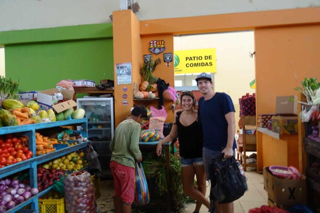 Markt Puerto Lopez